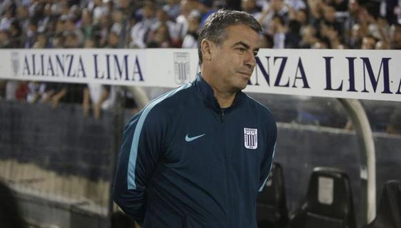 Pablo Bengoechea dejó de ser entrenador de Alianza Lima a inicios de marzo. (Foto: César Campos / GEC)