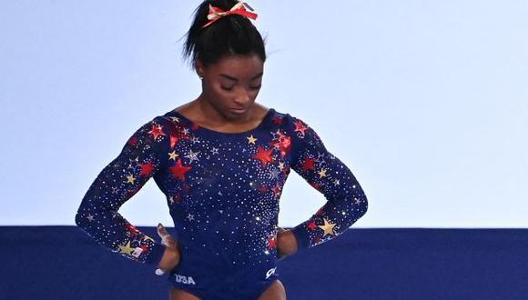 Simone Biles se perderá las finales de salto y barras asimétricas de Tokio 2020. (Foto: AFP)