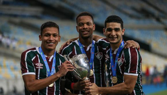 Fernando Pachecho llegó a inicios de año a Fluminense procedente de Sporting Cristal. (Foto: Fluminense)