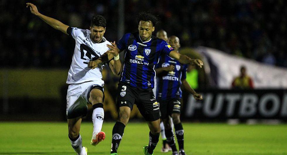 Independiente del Valle ganó 2-1 a los Pumas por los cuartos de final de la Copa Libertadores. (EFE)