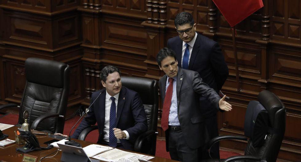 El debate en el Pleno del Congreso tuvo un ambiente profundamente convulsionado.(GEC/ Anthony Niño De Guzmán)