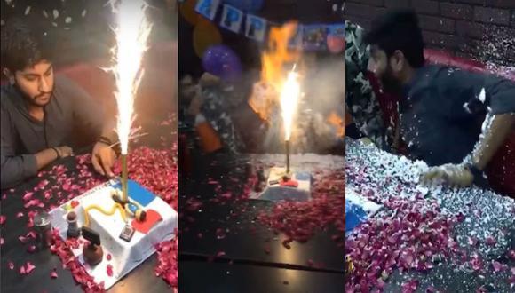 YouTube: Cumpleaños casi termina en tragedia