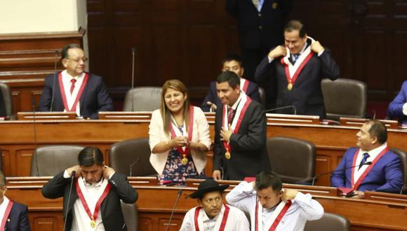 La bancada upepista propone cambios a la Carta Magna del 93 que promovió Alberto Fujimori. (Foto: Congreso de la República)