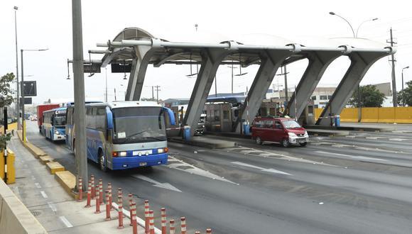 Rutas de Lima administra el peaje ubicado en Puente Piedra. (GEC)