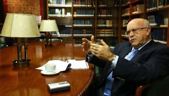 Ferrero no descartó que el caso se resuelva en setiembre. (Andina)