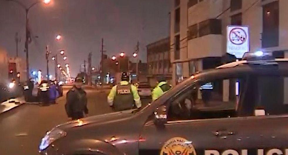 Los accidentes son investigados por la Policía. (Foto: Captura/América Noticias)