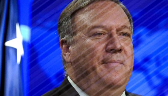 El Secretario de Estado de los Estados Unidos, Mike Pompeo, no cerró la posibilidad de brindar ayuda a la OMS. (Foto: AFP/KEVIN LAMARQUE)
