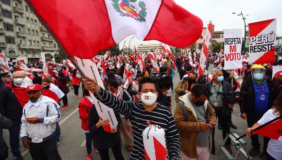 Convocan marcha en Campo de Marte. (Foto: GEC)