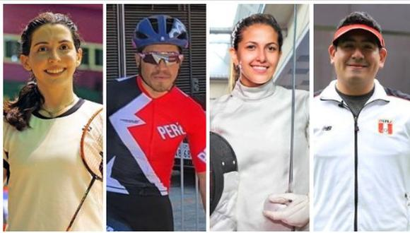 Daniela Macías. Royner Navarro, María Luis Doig y Marko Carrillo competirán este viernes 23 de julio en Tokio 2020. (Foto: IPD)