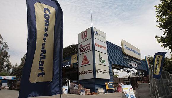 Construmart tiene cerca de 40 locales en Chile. (La Tercera)