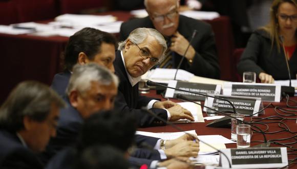 Gino Costa, uno de los parlamentarios de PpK que se pronunció vía Twitter. (Mario Zapata/Perú21)