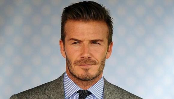 Así se defendió David Beckham cuando lo acusaron de usar botox (Getty Images)