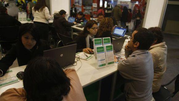 Mayor poder adquisitivo permite a los peruanos pedir créditos hipotecarios. (Mario Zapata)