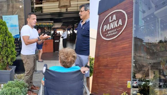 Jorge Mendoza, acusado de discriminación en restaurante La Panka. (GEC)