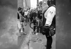 Cercado de Lima: delincuentes en motos balean a cambista y se llevan 20 mil dólares