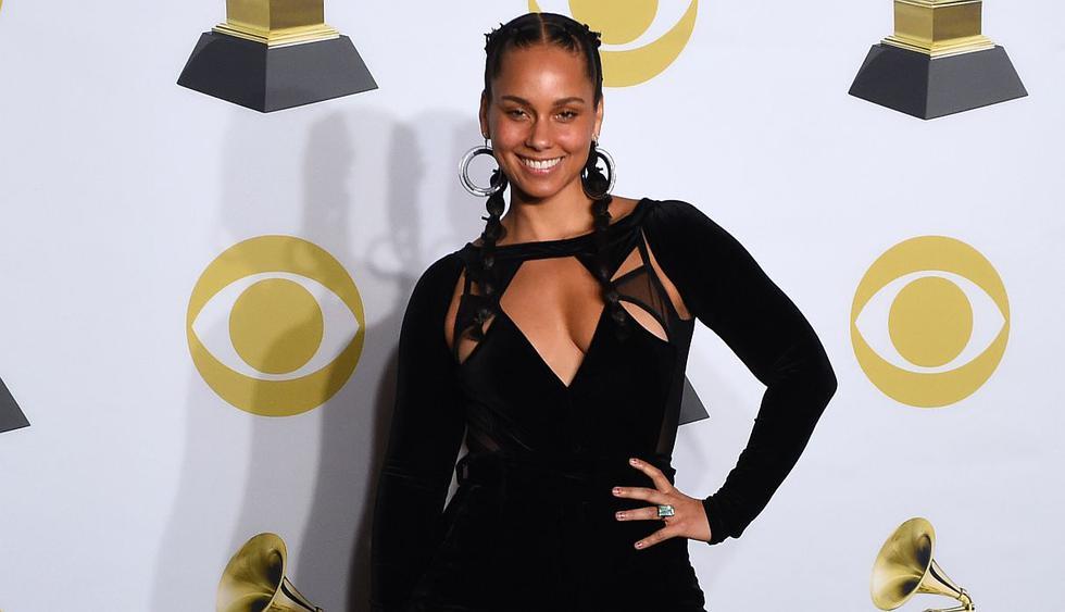 La cantante Alicia Keys cumple 38 años como una de las máximas exponentes del R&B. (Foto: AFP)