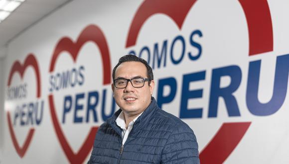 El congresista José Enrique Jerí indicó que están dispuestos a construir puentes con el resto de bancadas. (Foto: Fidel Carrillo)