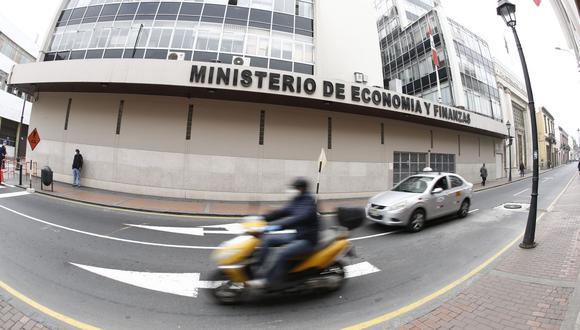 Aún no hay titular del Ministerio de Economía y Finanzas. (Foto: GEC)