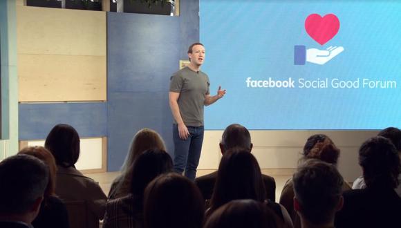 Facebook también lanzó dos interfaces de programación de aplicaciones para apoyar más obras sociales. (Captura)