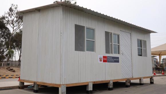 La medida se replicará en todos los hospitales de país con un total de 244 módulos temporales. Para Tumbes se destinó 15 estructuras.