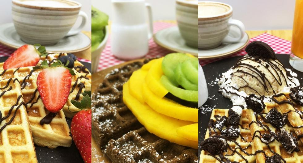 Los waffles son de origen belga. (Foto: Difusión)
