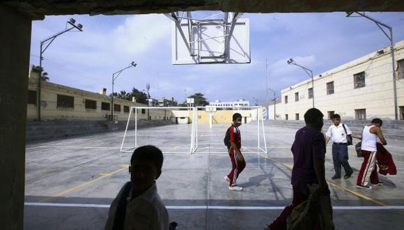 Menores en riesgo. Los escolares también son víctimas de amenazas en sus propias aulas. (Perú21)