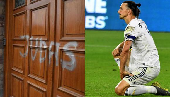 Hinchas vandalizaron estatua y vivienda de Zlatan. (Agencias)