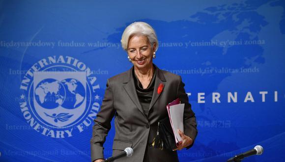Lagarde, de 63 años, llegó a la principal institución financiera internacional en 2011 tras la salida polémica de Dominique Strauss-Kahn. (Foto: AFP)
