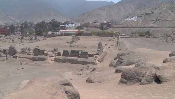La Huaca Mangomarca recibió una vez más este donativo. (Foto: Andina)