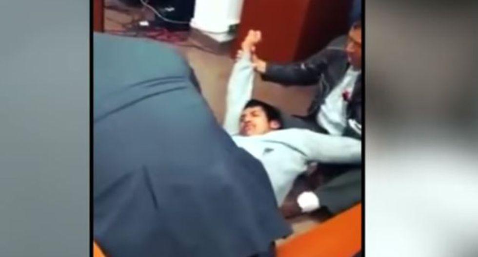 Cajamarca: Delincuente fingió estar poseído por un ente maligno para no ser encarcelado. (Cajamarca Reporteros)