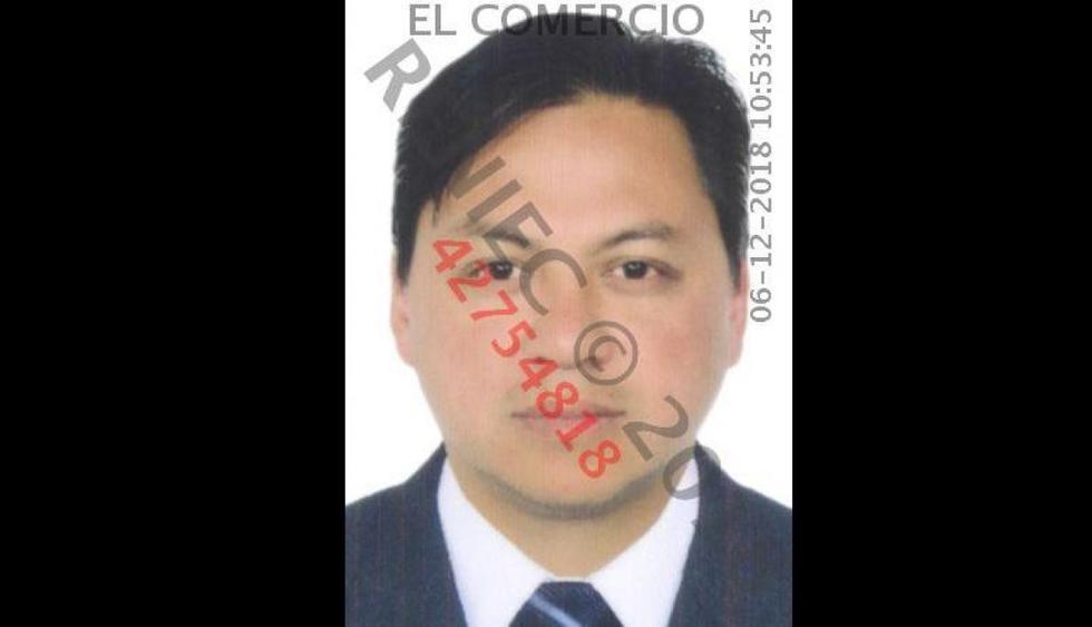 Edwin Oviedo: Autoridades buscan a Alberto Chang, el último implicado en 'Cuellos Blancos'. (Reniec)