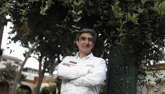 Alejandro Neyra, ministro de Cultura, escritor y diplomático. (Fotos: César Campos).