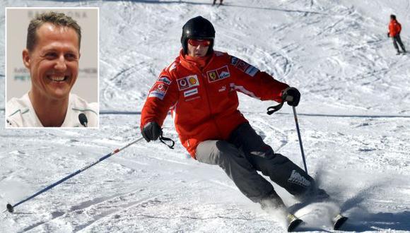 Michael Schumacher se encontraba consciente durante su traslado al hospital. (Reuters)