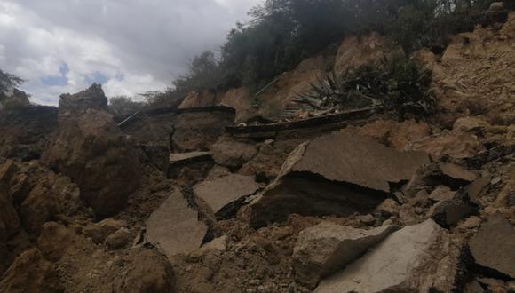 Áncash: Ingemmet realizará evaluación geológica por deslizamientos en Huari (Foto: Gore Áncash)