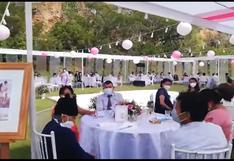 Huánuco: Boda con unos 80 invitados quedó frustrada por intervención de la PNP [VIDEO]