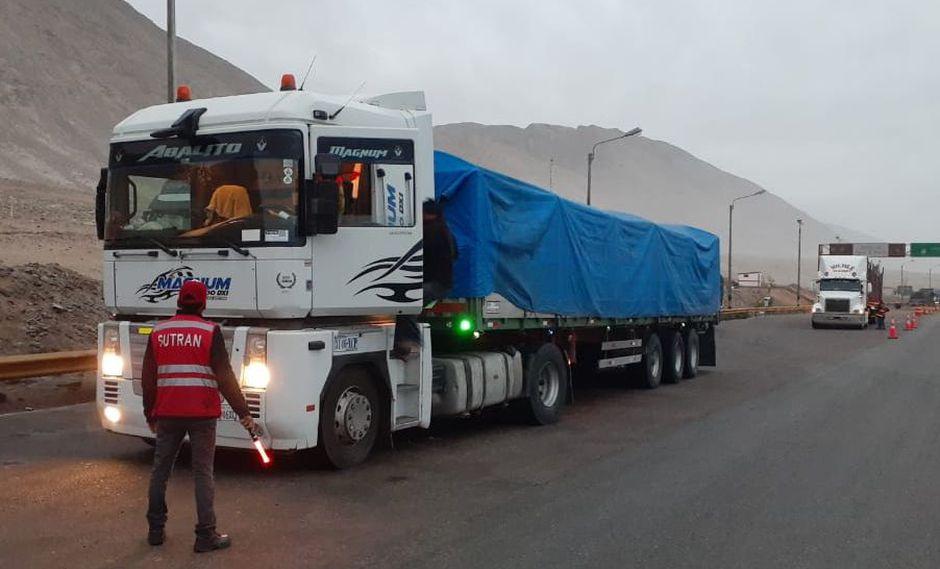 Sutran interviene más de 2 mil vehículos bolivianos vinculados al transporte de carga internacional
