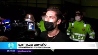 """Santiago Ormeño llegó a Lima para unirse por primera vez a la """"Blanquirroja"""""""