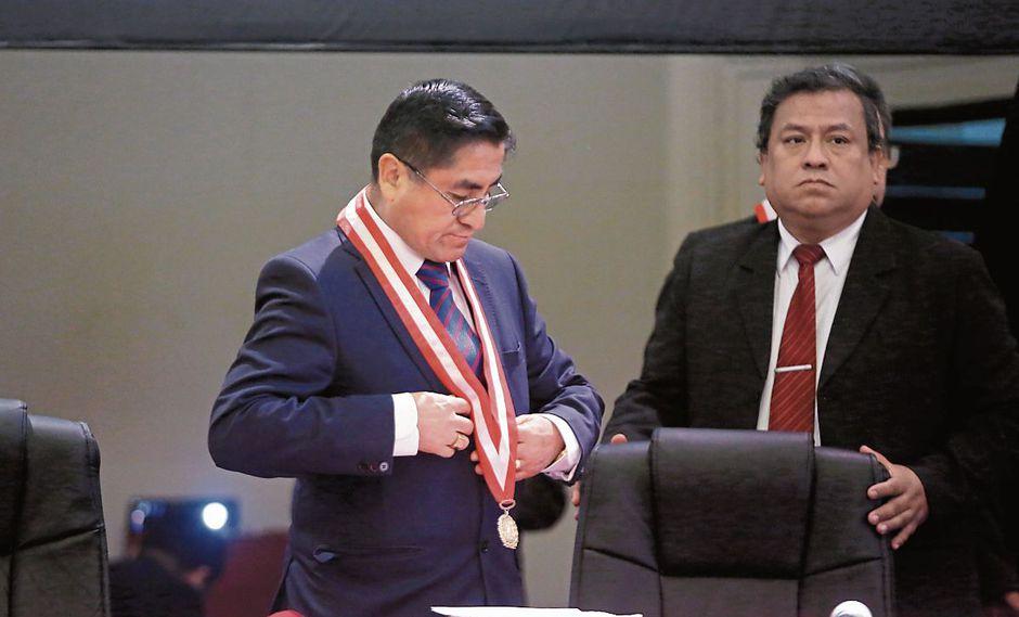 BAJO CONTROL. Exmagistrado se comunicaba con consejeros para nombrar a jueces y fiscales. (Hugo Pérez)