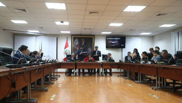 Esta será la primera sesión de la Comisión de Ética Parlamentaria en la presente legislatura, bajo la presidencia de Janet Sánchez por segundo año. (Foto: GEC)
