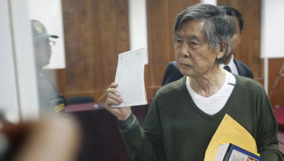 Alberto Fujimori justificó su pedido de arresto domiciliario. (Luis Gonzales)