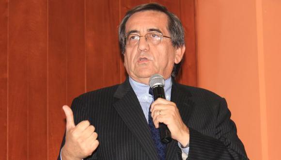 Del Castillo dijo que el Apra tiene voluntad de diálogo. (USI)