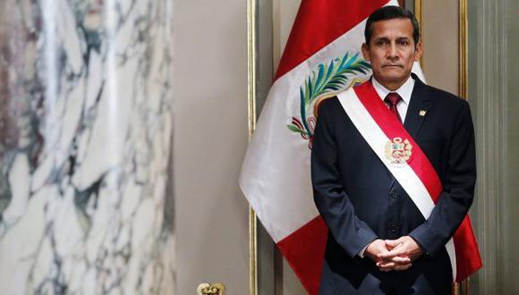 Aprobación de Ollanta Humala sube a 33%, el mejor nivel en ocho meses. (Reuters)