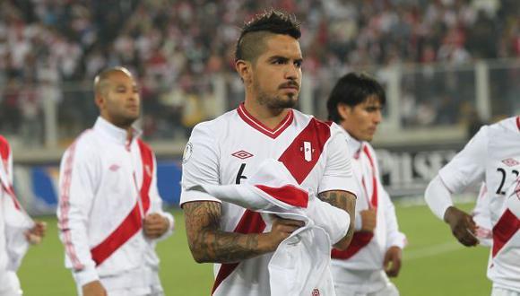 Juan Vargas sería titular ante Uruguay. (Fernando Sangama/Depor)