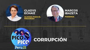 Gladys Echaíz de Alianza para el Progreso VS Marcos Ibazeta de Podemos