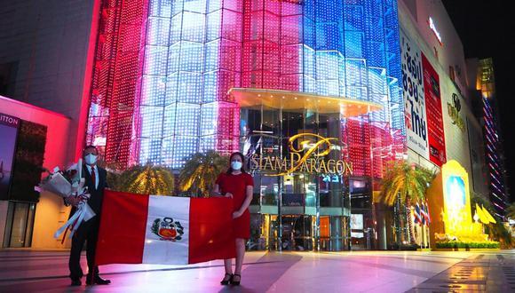 Homenaje al Bicentenario del Perú desde Tailandia. (Foto: Cancillería Perú)