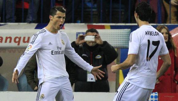 Cristiano Ronaldo llevó al Real Madrid a la final de la Copa del Rey. (EFE)