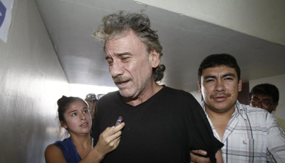 'Tío Charly' fue hospitalizado ayer lunes a las 06:00 horas en el tópico del penal de Chimbote. (Foto: GEC)