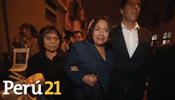 Sharmelí Bustíos tras absolución de Daniel Urresti.