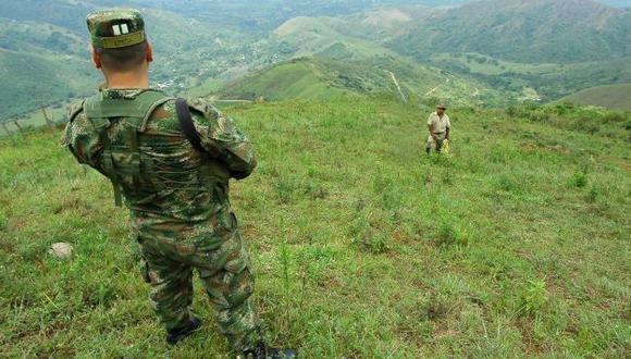 GRAN OPERATIVO. Colombia ha redoblado esfuerzos en rescate. (Bloomberg News)