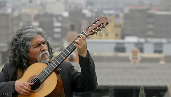 Guitarrista ayacuchano es una de las figuras de la música peruana.